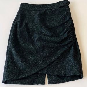 ROBERT RODRIGUEZ GRAY RUCHED PENCIL SKIRT SIZE 0